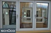 Окна Schuco,  Deceuninck (Германия),   Американские окна Double Hung,  Евродеревянные окна.